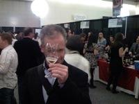 My friend, David MacMillan enjoying the Festival